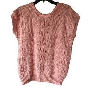 Tops - Vintage Across America Knit Maven Pink Tank Top